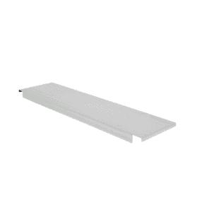 Innleggshylle i stål for pallereol 1100x300mm