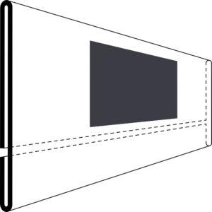 Etikettholder - magnet - 210x50mm - 50stk