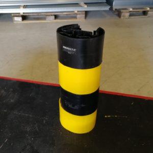 Brukt stolpebeskyttelse i plast for stolpebredde 90-100mm