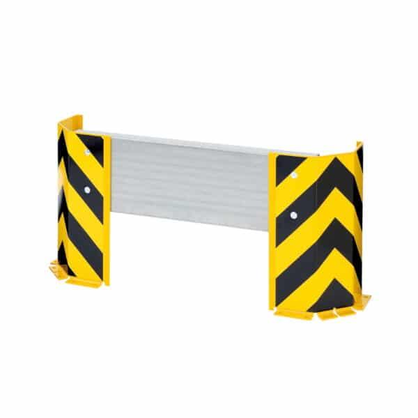Stigebeskytter for pallreol beskytter stigen mot påkjørsler fra truck og andre kjøretøy. Kommer i flere lengder.